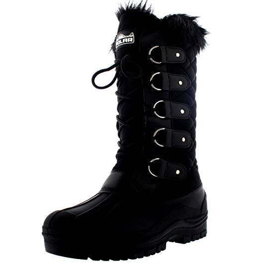 fashionable snow boots