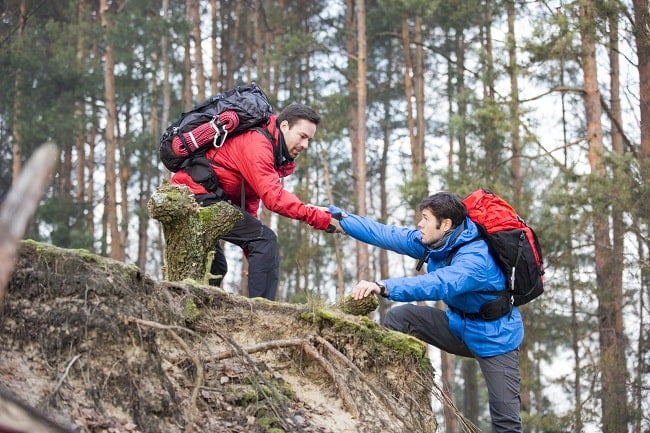 training hiking