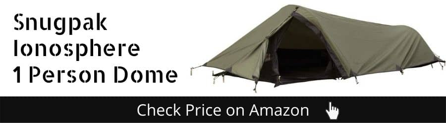 Snugpak The Ionosphere 1 Person Dome Tent - Best Extreme Cold Tent