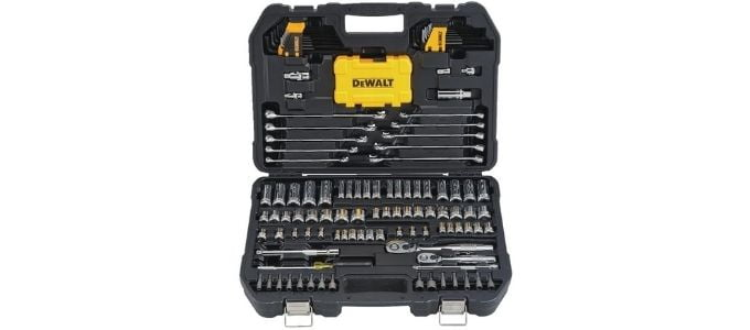 Dewalt 142 Piece Mechanics Tools Kit