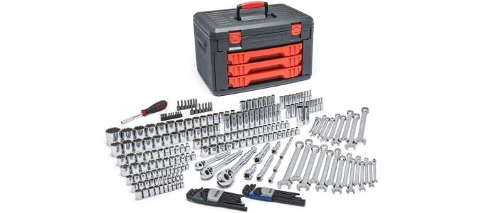 Gearwrench 239 Piece Mechanics Tool Kit