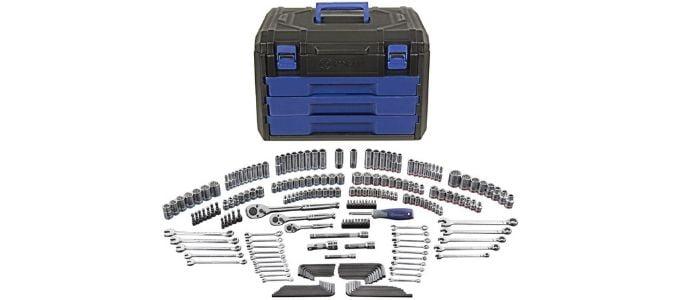 Kobalt 227 Piece Mechanics Tools Kit