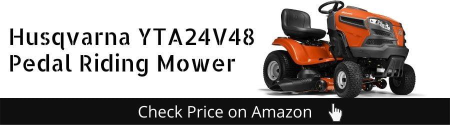 Husqvarna YTA24V48 Pedal Riding Mower