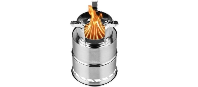 Canway Wood Backpacking Stove