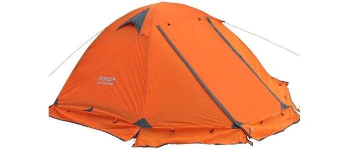 FlyTop 2 Person 4 Season Tent - Best Budget 4 Season Tent