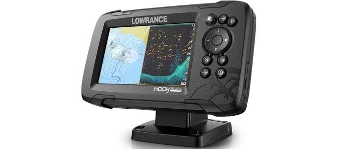 Lowrance Hook Reveal 5X SplitShot Best Fish Finder 300
