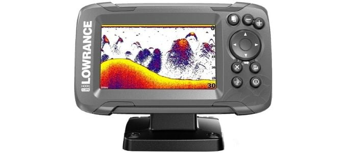 Lowrance Hook2 4X with GPS Fish Finder Under 300