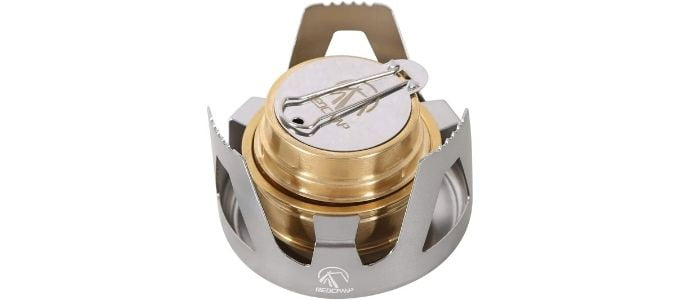 Redcamp Mini Alcohol Stove for Backpacking