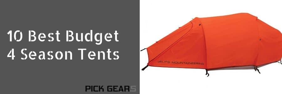 The 10 Best Budget 4 Season Tents